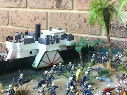 Gunboat and Marines